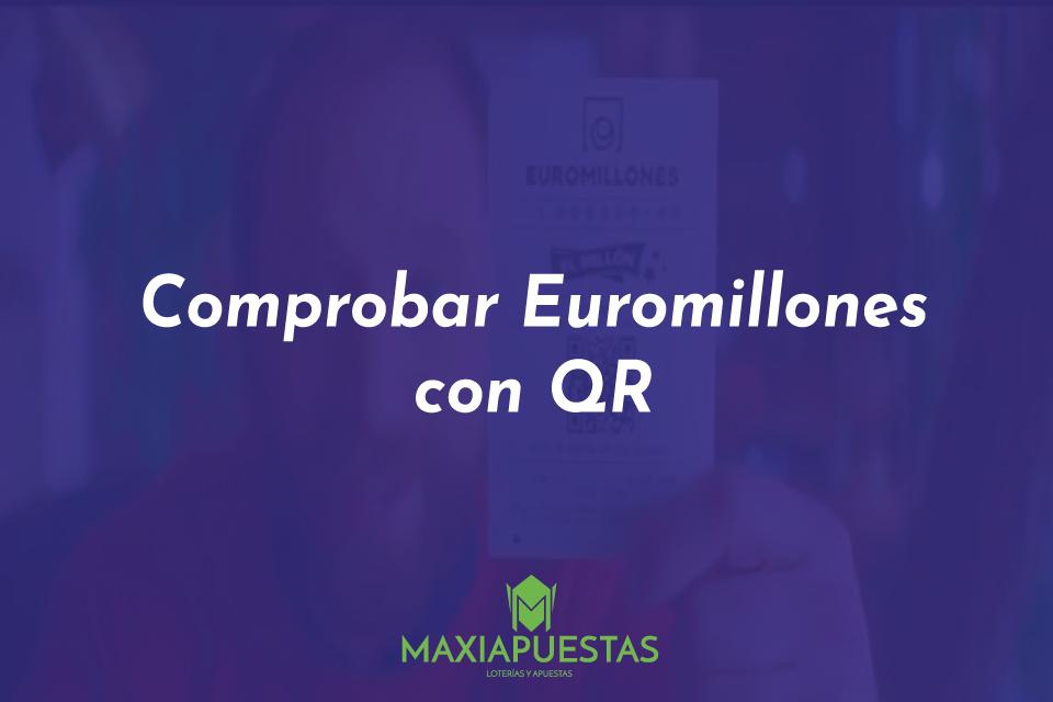 Comprobar euromillones con código QR