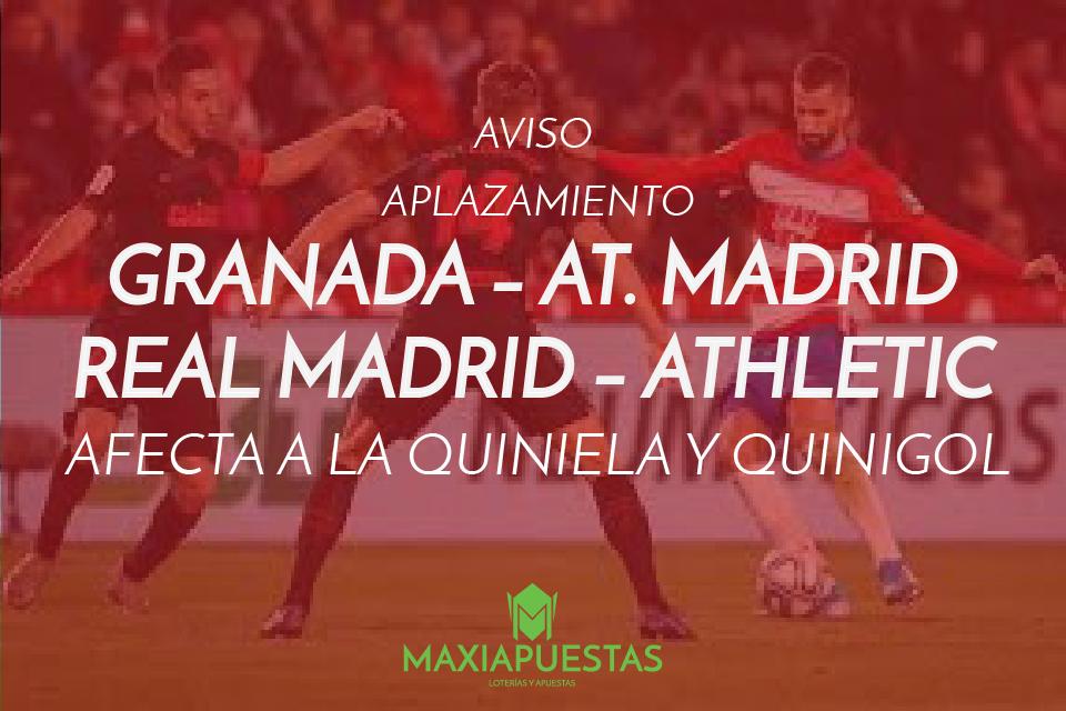 Aviso sobre el aplazamiento de los encuentros SEVILLA-BARCELONA y VILLAREAL-ALAVÉS. Jornada 13 de la temporada 2021/2022.