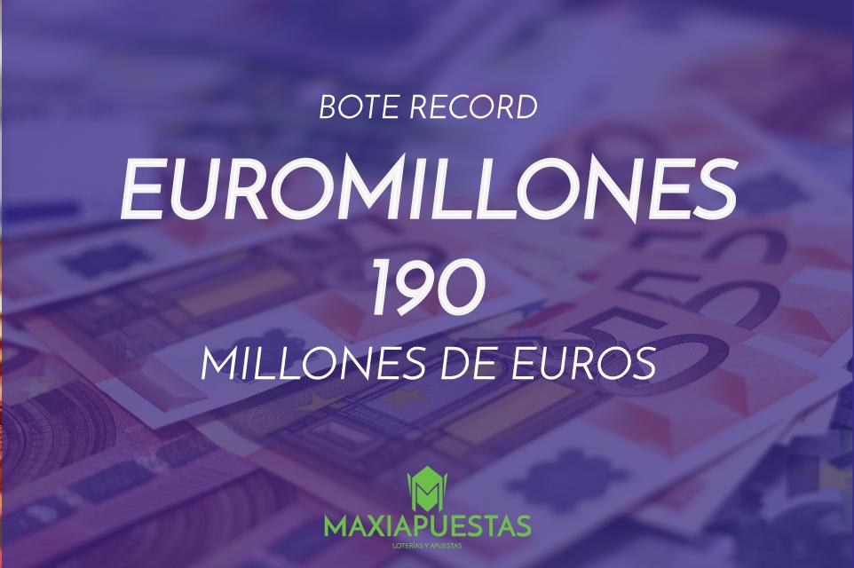 Bote Récord de Euromillones