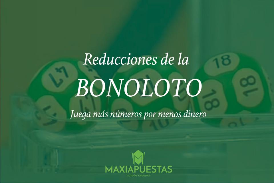 Tabla completa de reducciones de la bonoloto