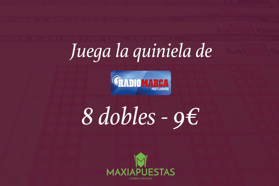 Quiniela de Radio Marca Asturias con Maxiapuestas