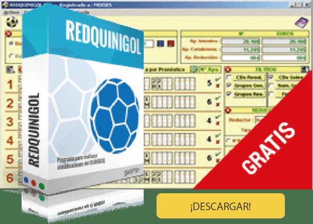 Descargar Redquinigol. Software para hacer combinaciones del Quinigol.