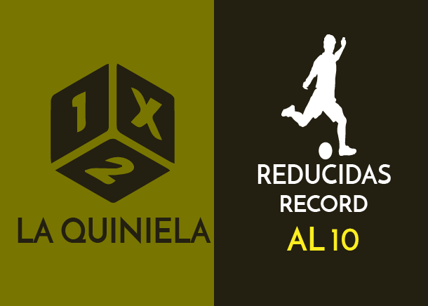 Table of reductions record of the quiniela al 10