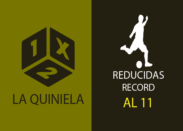 Table of reductions record of the quiniela al 11