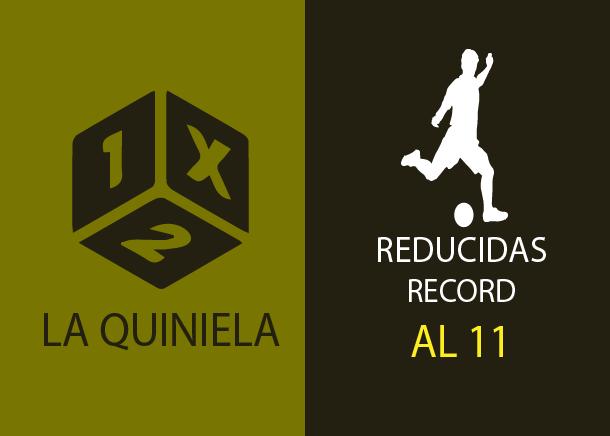 Tabla de reducciones récord de la quiniela al 11